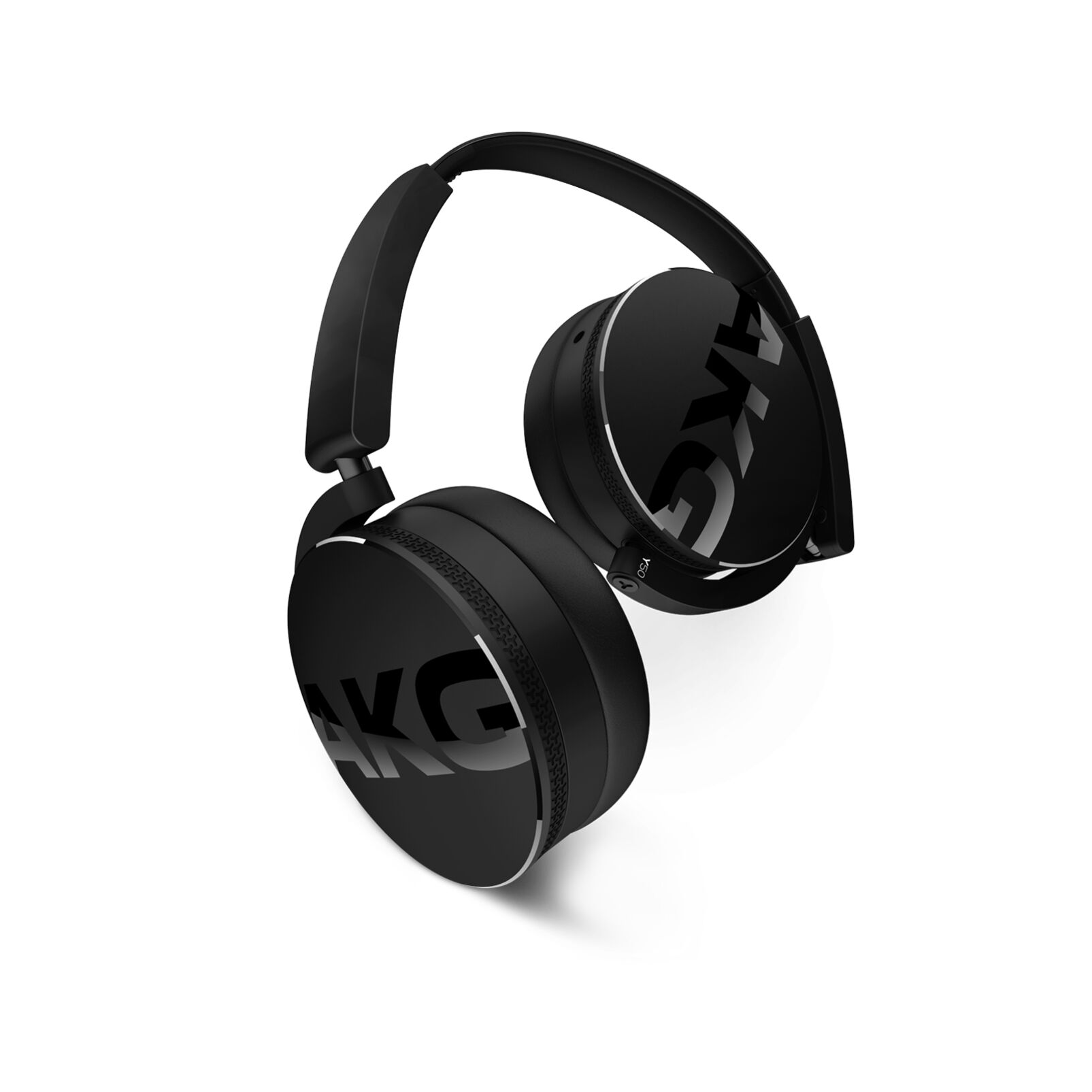 Image of AKG Harman Y 50 On Ear Koptelefoon Vouwbaar, Headset Zwart