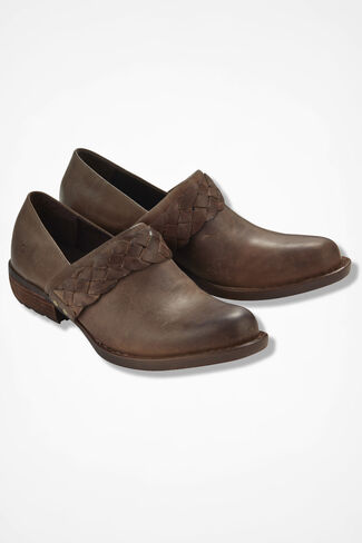 """Hensley"" Clogs by Born®, Taupe, large"