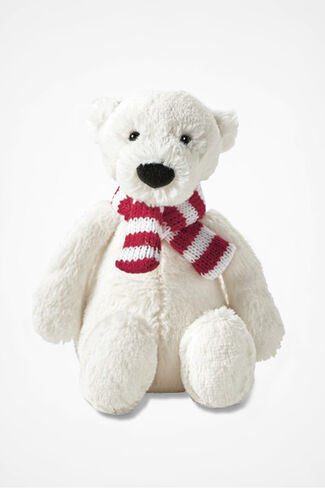 """Pax"" Small Polar Bear by Jellycat®, White, large"