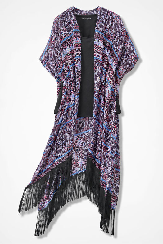 Alhambra Convertible Scarf Vest Coldwater Creek