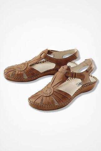 """Vallarta"" Flats by Pikolinos®, Tan, large"