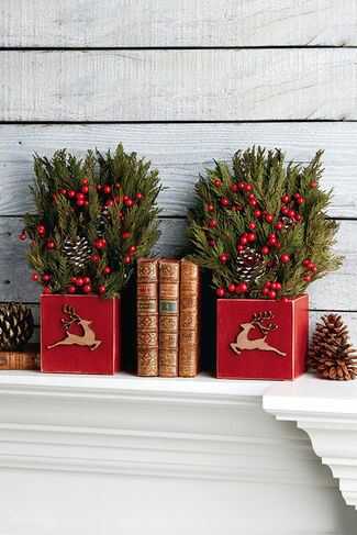 Rudolph's Run Cedar Accents, Green, large