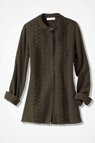Graced with Lace Shirt, Vine, large