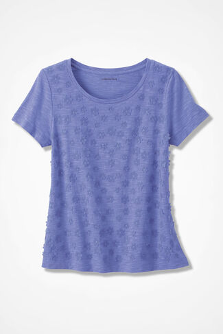 Showers of Flowers Tee, Perfect Peri, large