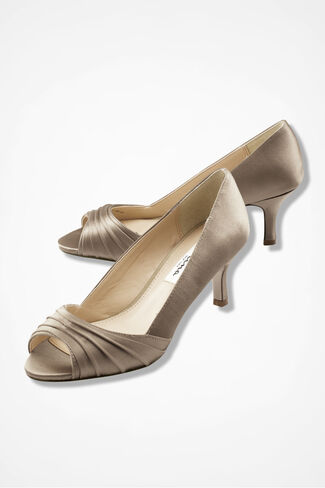 """Carolyn"" Pumps by Nina®, Champagne, large"