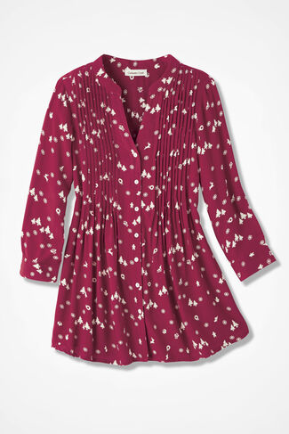 Holiday Carnival Tunic, Red, large