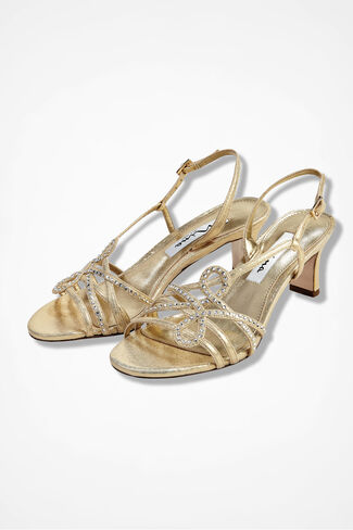 """Garland"" Sandals by Nina, Gold, large"