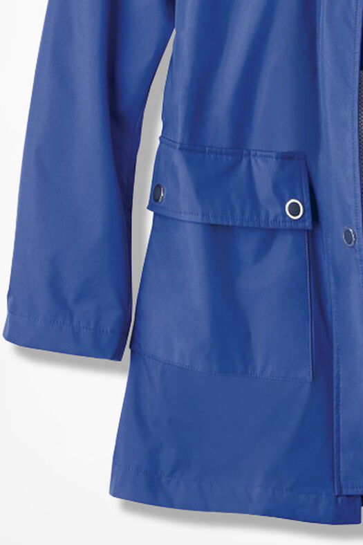 Cloud Chaser Rain Jacket, Cobalt, large