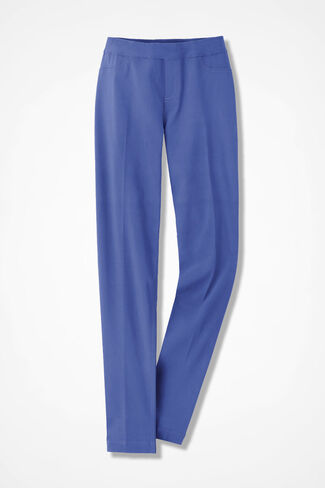 Pull-On Day-to-Dinner Ankle Pant, Perfect Peri, large