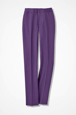 The CottonLuxe Gallery Pant, Boysenberry, large