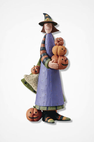 Halloween Harvest Witch, Multi, large