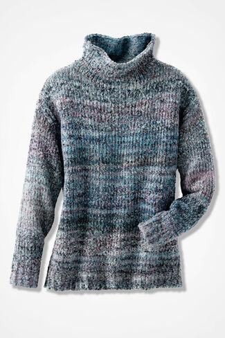 Beaucoup de Bleu Marled Sweater, Multi, large