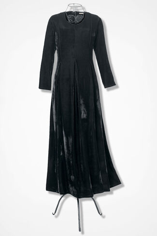Velvet Dream Dress, Black, large