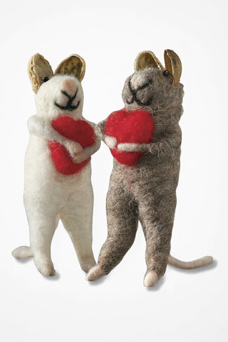 Here's My Heart Mini Mice, Multi, large