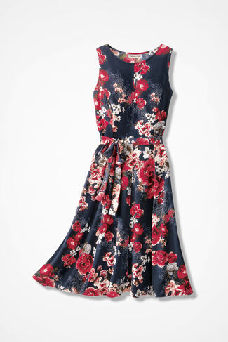 Lunch in the Garden Dress, Floral, large