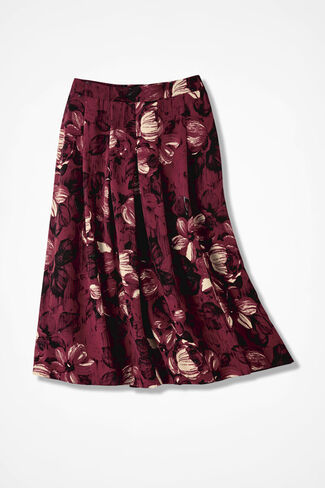 Cayenne Blossoms Skirt, Floral, large