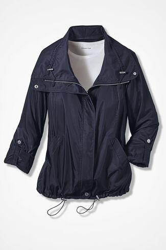 Snap-To-It Jacket, Navy, large