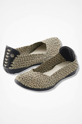 """Catwalk"" Slip-Ons by Bernie Mev®, Natural Dot, large"