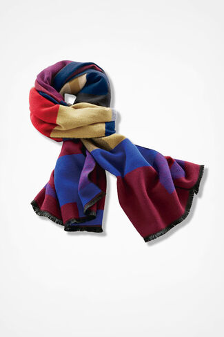 Colors-n-Shapes Scarf, Multi, large