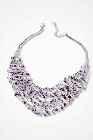 Purple Passion Necklace, Purple, large