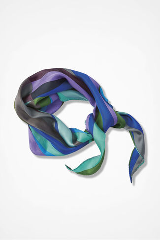 Finishing Touch Silk Neckerchief, Multi, large