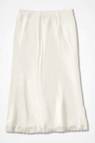 "Stretch-Comfort 29"" Half Slip, Ivory, large"