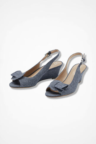 """Tinna"" Wedges by Naturalizer®, Medium Blue, large"