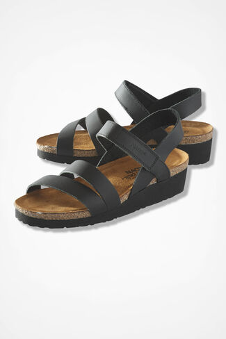 """Kayla"" Sandals by Naot®, Black, large"