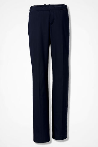 The Curvy Studio Pant, Navy, large