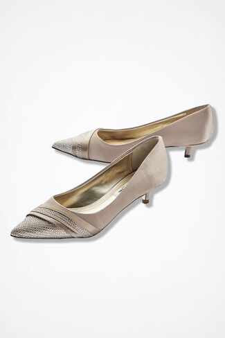 """Emmie"" Pumps by Nina®, Champagne, large"