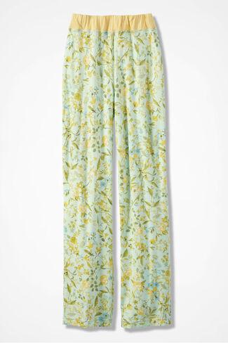 Prairie Blooms Knit PJ Pants, Multi, large