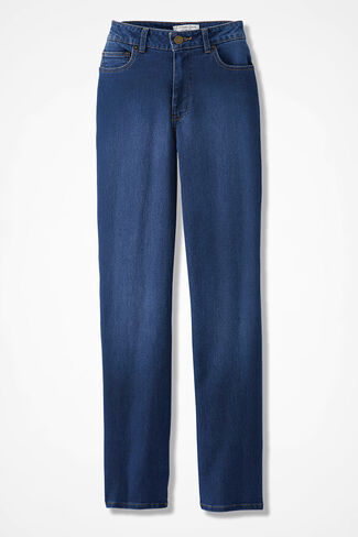 The Creek ShapeMe Straight-Leg Jeans, Medium Wash, large