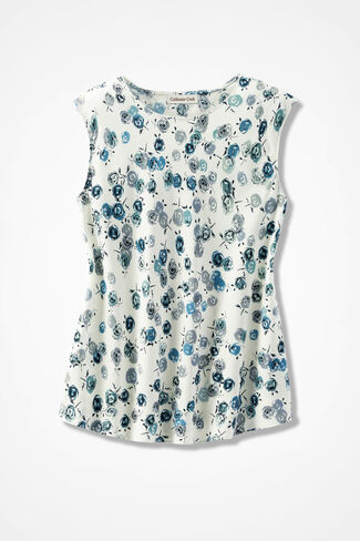 Tea Rose Print Do It All Shell, Lagoon, large