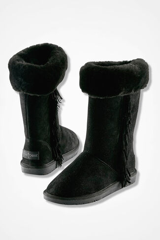 """Canyon"" Boots by Minnetonka®, Black, large"
