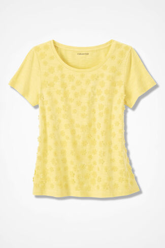 Showers of Flowers Tee, Daffodil, large