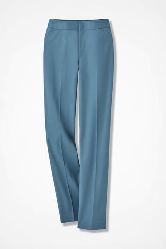 The CottonLuxe Gallery Pant, Lagoon, large