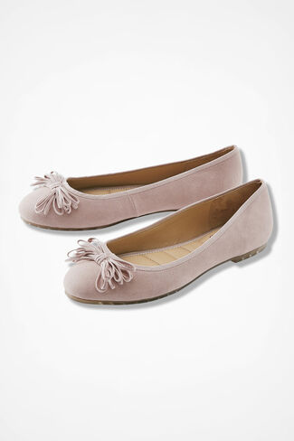 """Cassi"" Bow Flats by ...me Too, Blush, large"