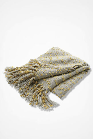 Dreamland Throw, Yellow, large