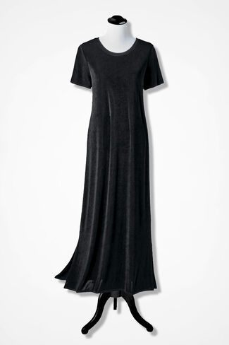Destinations Maxi Dress, Black, large