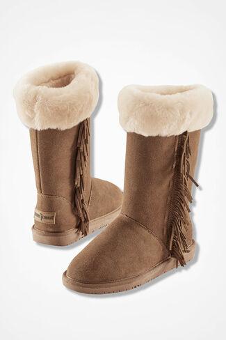 """Canyon"" Boots by Minnetonka®, Tan, large"