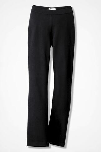 Ponte Perfect Bootcut Pants, Black, large