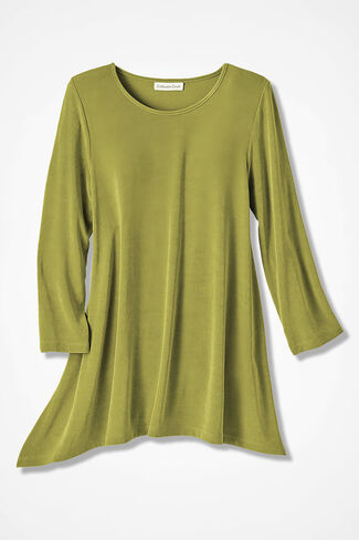 Destinations Swing Tunic, Avocado, large