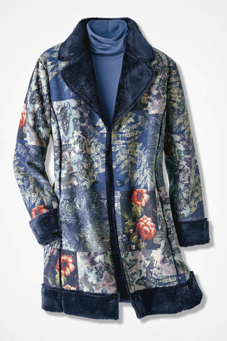 Autumn Moods Coat, Multi, large