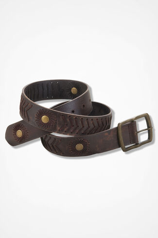 Fontaine Belt, Brown, large