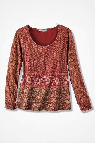 Marrakesh Tee, Dover Red, large