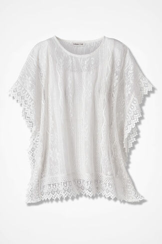 Love of Lace Popover, Ivory, large