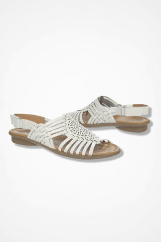"""Wendy"" Huaraches by Naturalizer®, White, large"