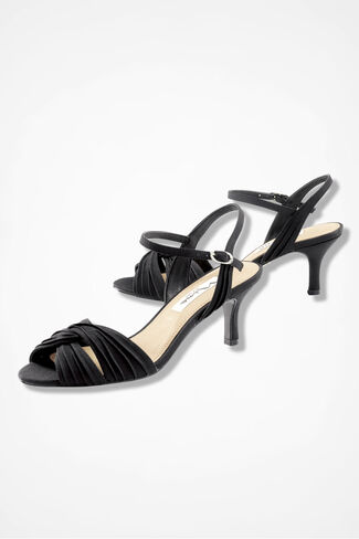 """Camille"" Sandals by Nina®, Black, large"