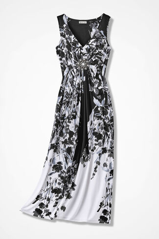 Day-to-Night Jeweled Maxi, Black Multi, large