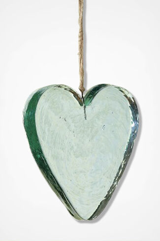 Heart Of Glass Suncatcher, Clear, large